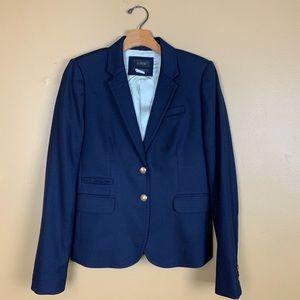 J. Crew Schoolboy Blazer in Navy Wool size 4T